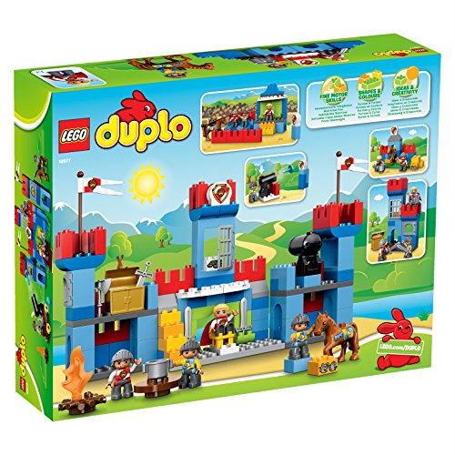 lego duplo castle instructions 10577