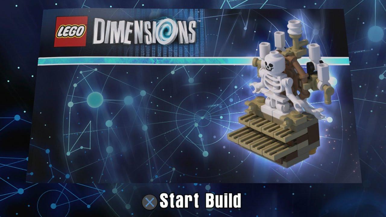 et lego dimensions building instructions