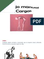 Levantamiento de cargas manuales de procedimiento