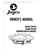 jayco swan 2013 instruction manuel