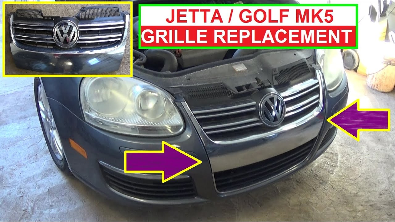 Golf mk5 front bumper removal guide