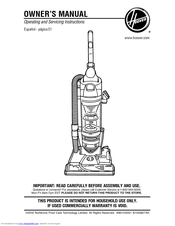 hoover pets bagless vacuum manual