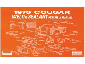 1968 mustang weld and seal assembly manual free