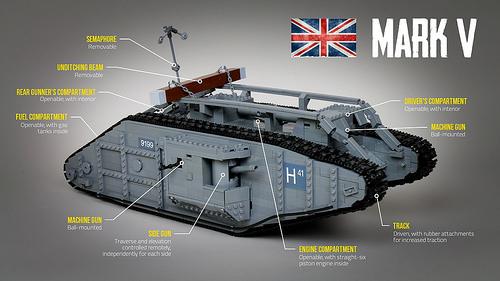 lego mark v tank instructions