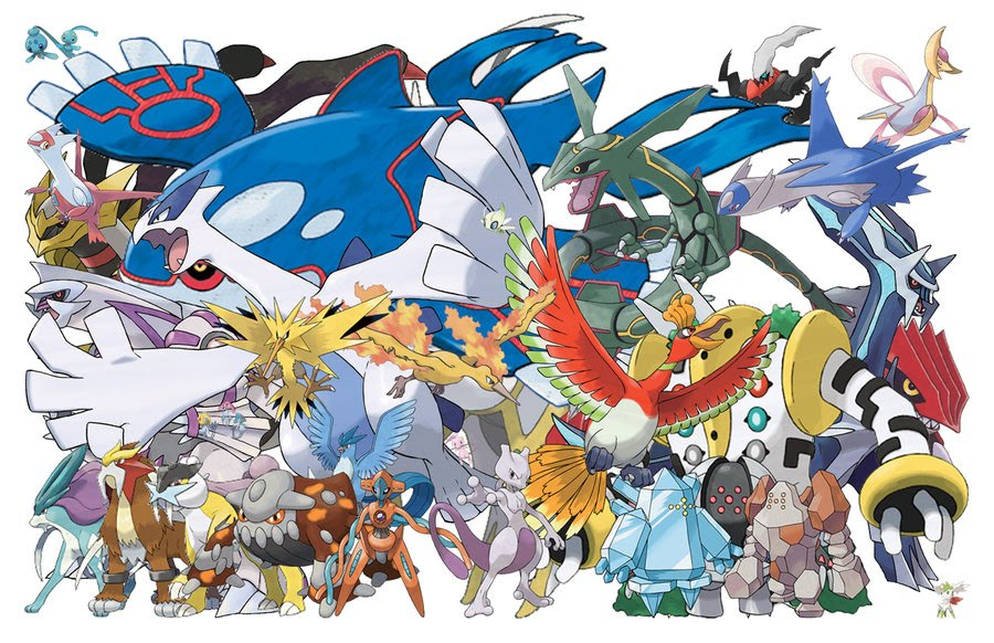 Pokemon black and white how to catch all legendaries