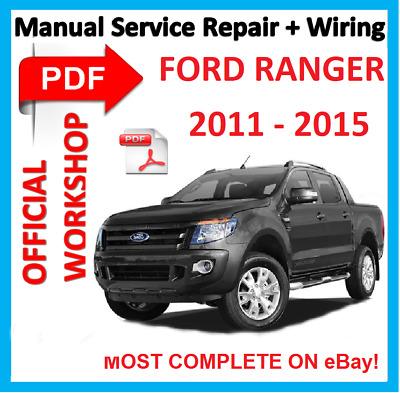 Pk ford ranger workshop manual