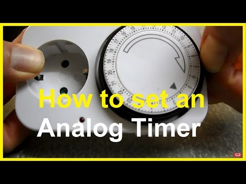 raintight outdoor timer instructions