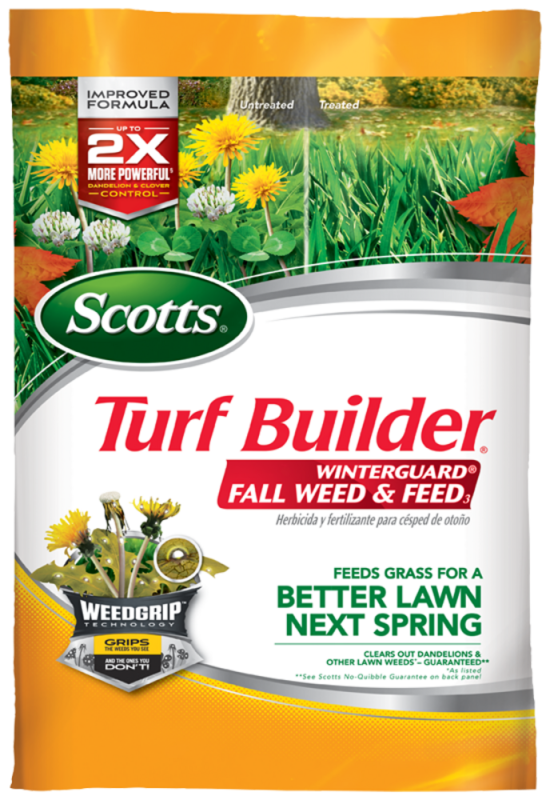 scotts weed and feed for southern lawns instructions