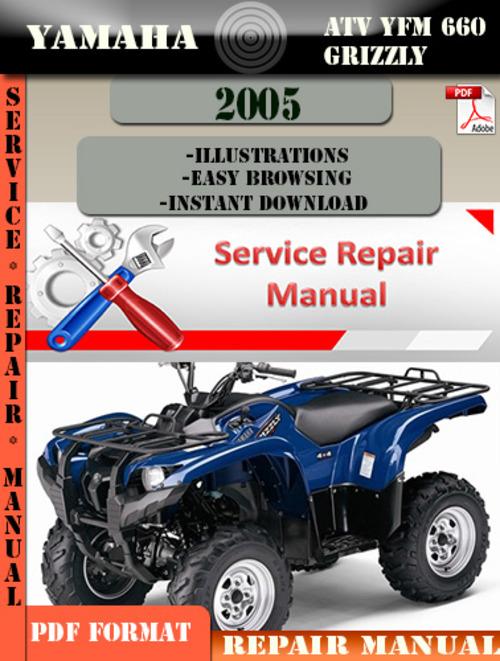 2005 yamaha grizzly 660 service manual pdf
