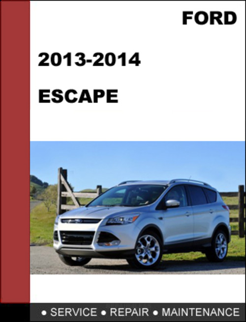 2013 ford escape repair manual free