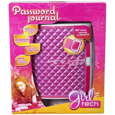 mattel my password journal instructions