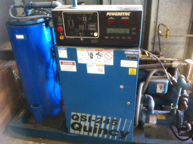 Quincy qsi 245 air compressor manual