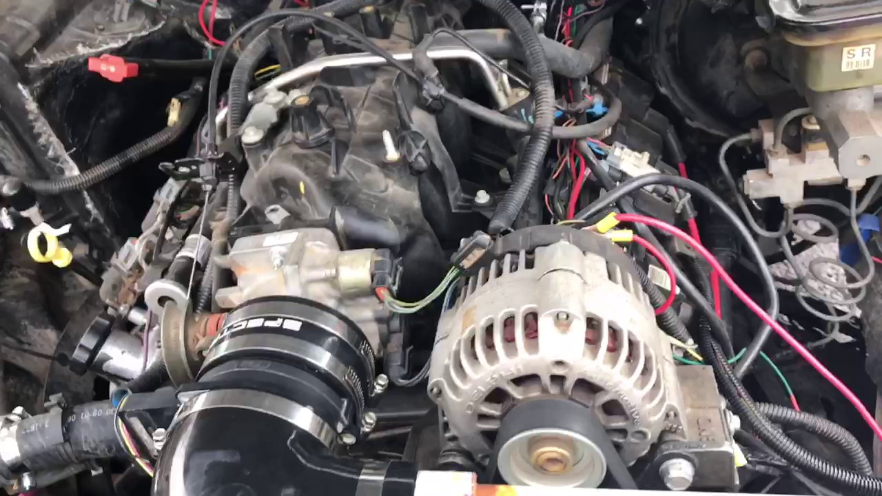 Chevy s10 v8 swap manual