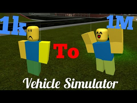 Roblox vehicle simulator how to get money fast