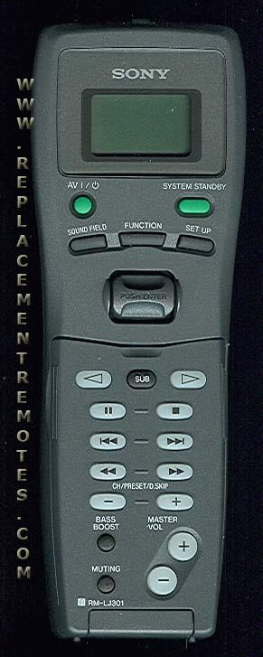 Sony av system rm adu005 manual