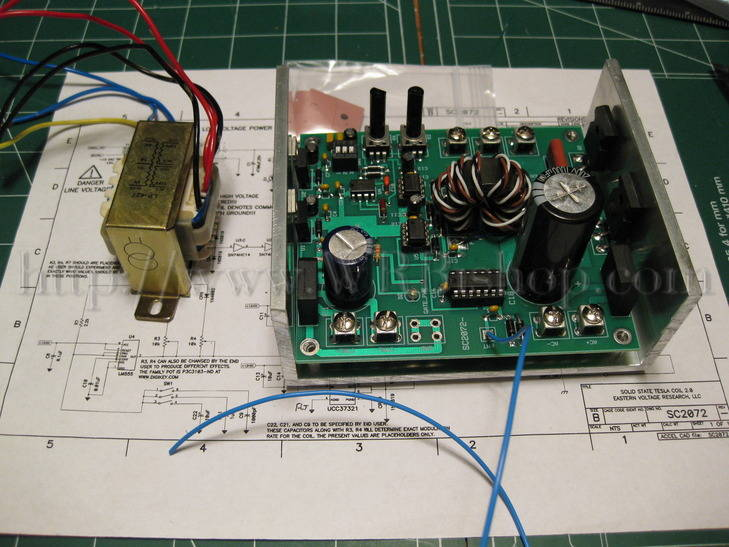 tesla coil kit instructions