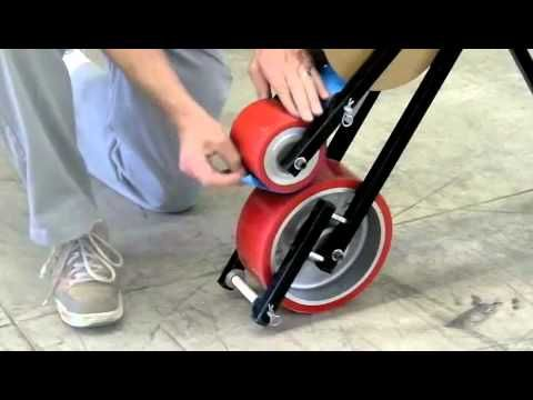 Mighty line floor tape applicator