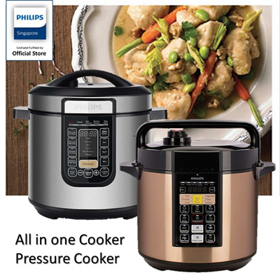philips all in one cooker instructions