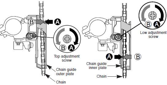 Shimano 105 rear derailleur manual