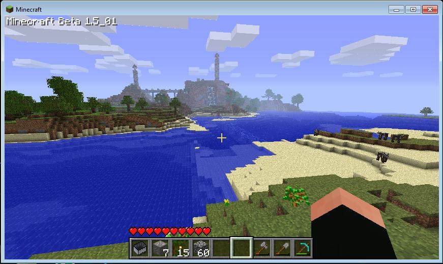 Minecraft how to build underwater