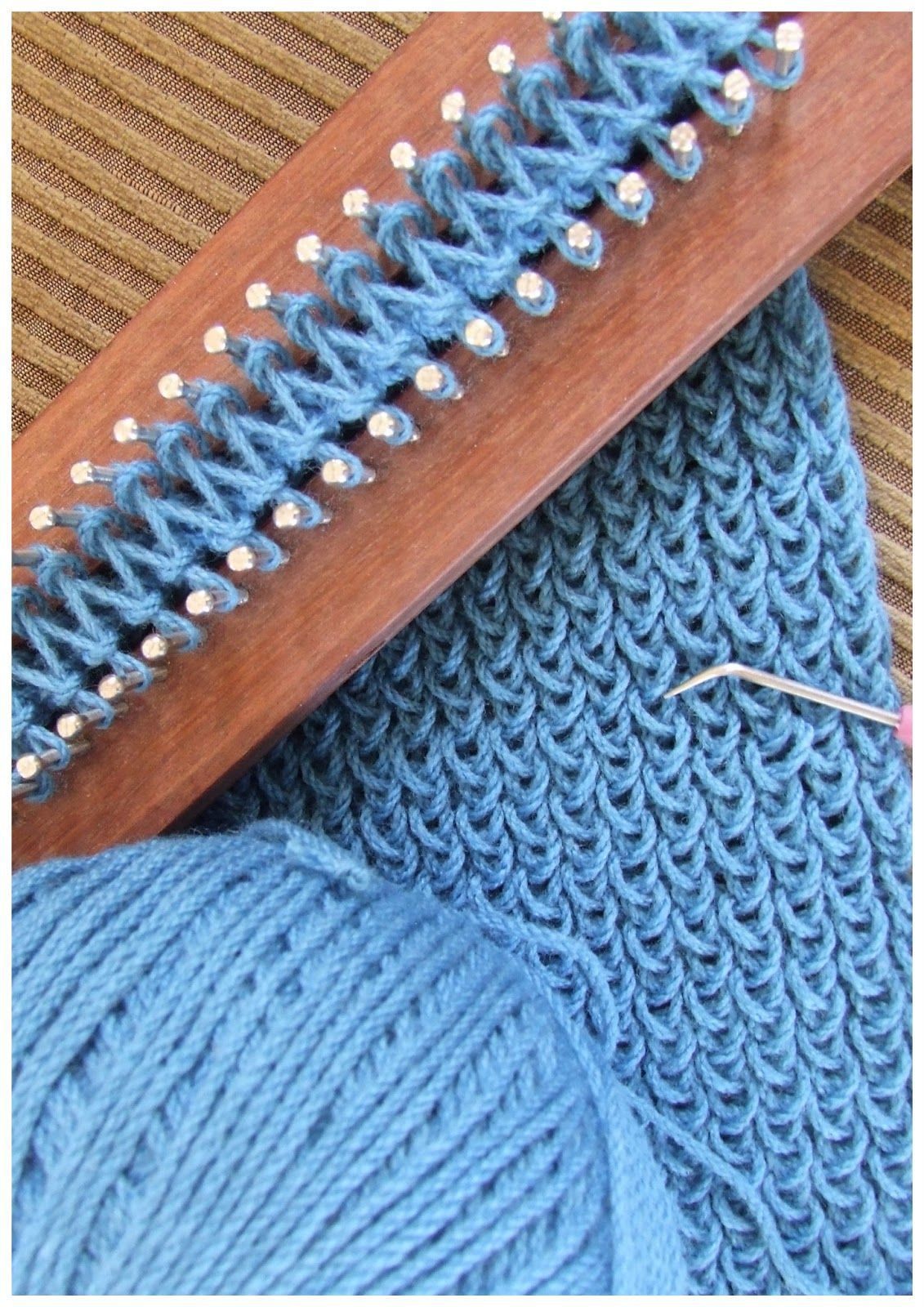 easy knitting loom instructions