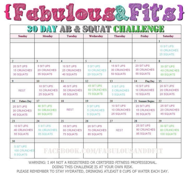 30 day squat and ab challenge pdf