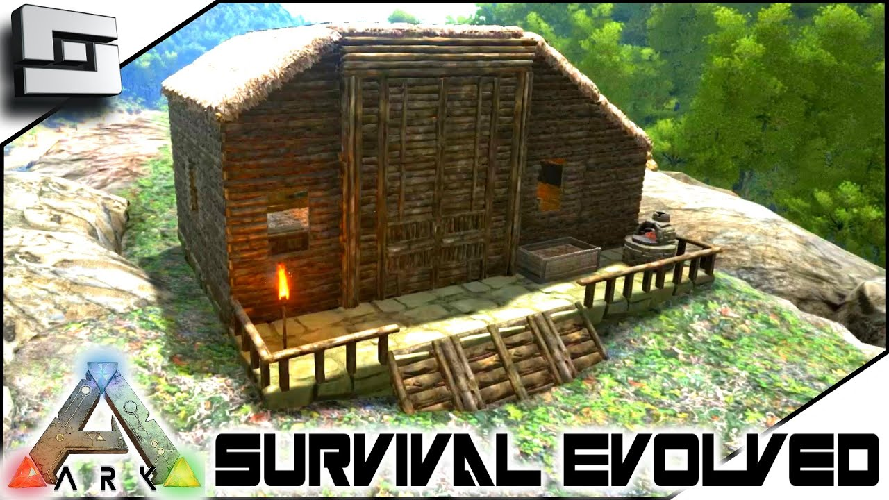 The ark of craft dinosaurs how to build a house