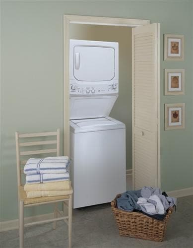 ge spacemaker stackable washer dryer manual
