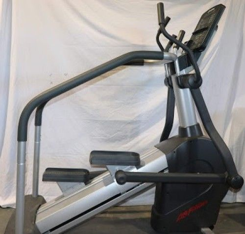 life fitness stair climber manual