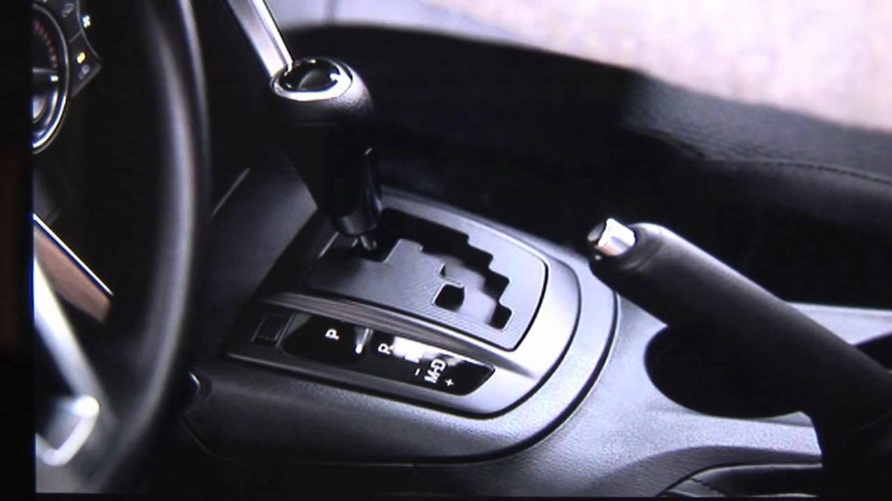 Mazda cx 5 manual shift mode