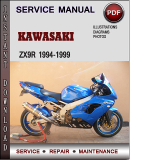 Kawasaki zx9r service manual free download