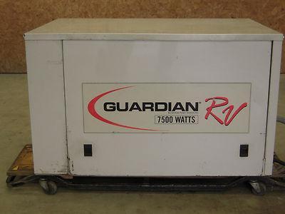 Guardian 7500 watt rv generator manual