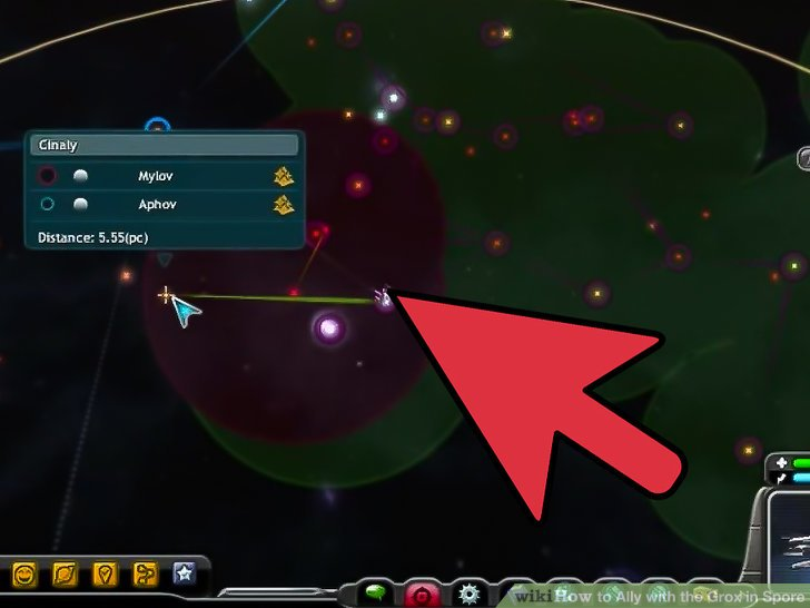Spore how to get an ally