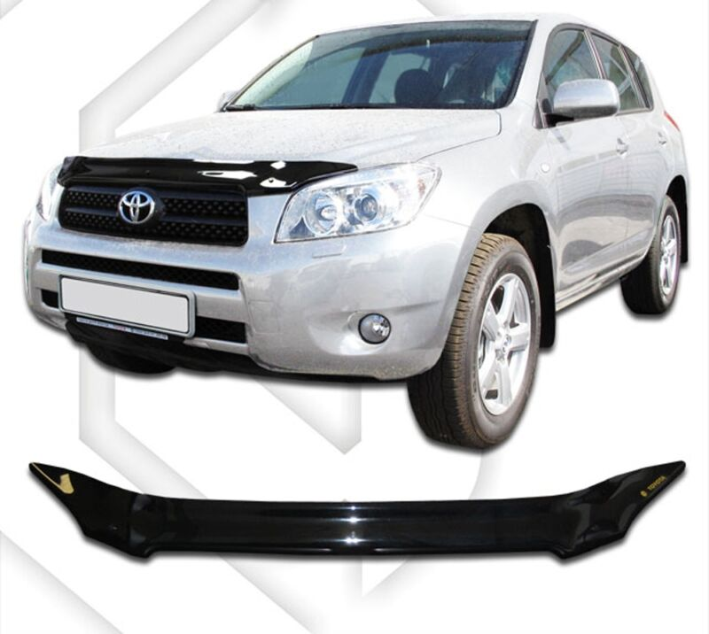 toyota hood deflector installation instructions
