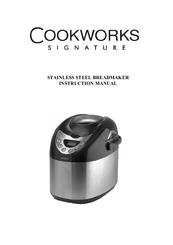 cookworks signature breadmaker user manual