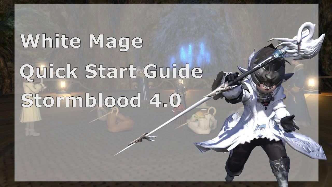 Ffxiv white mage 4.0 guide