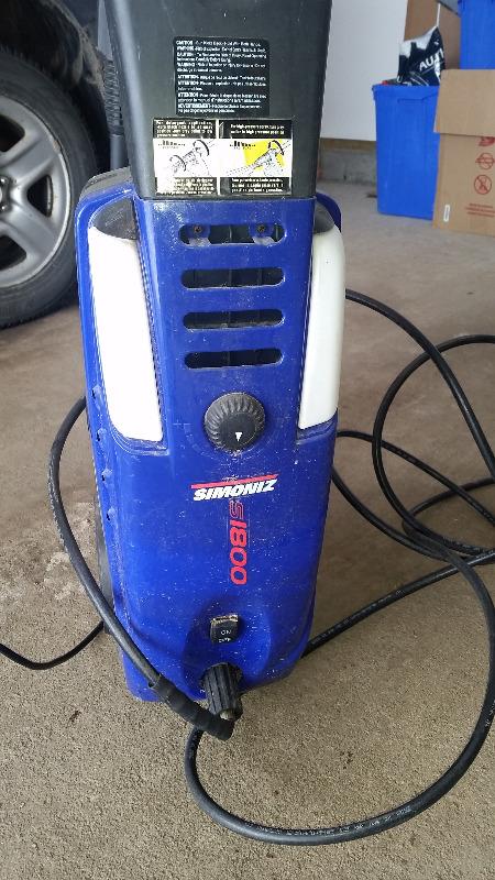 simoniz 200 psi pressure washer manual