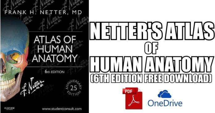 Netter atlas of human anatomy pdf free