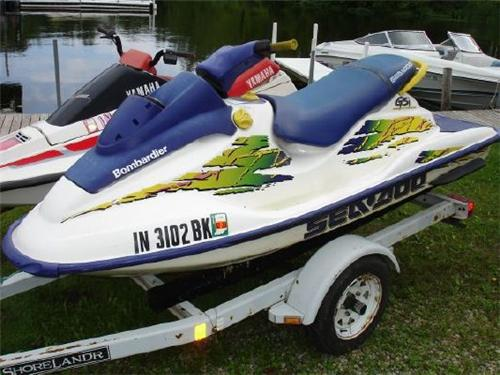 1998 seadoo gtx parts manual