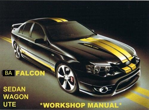au falcon workshop manual download