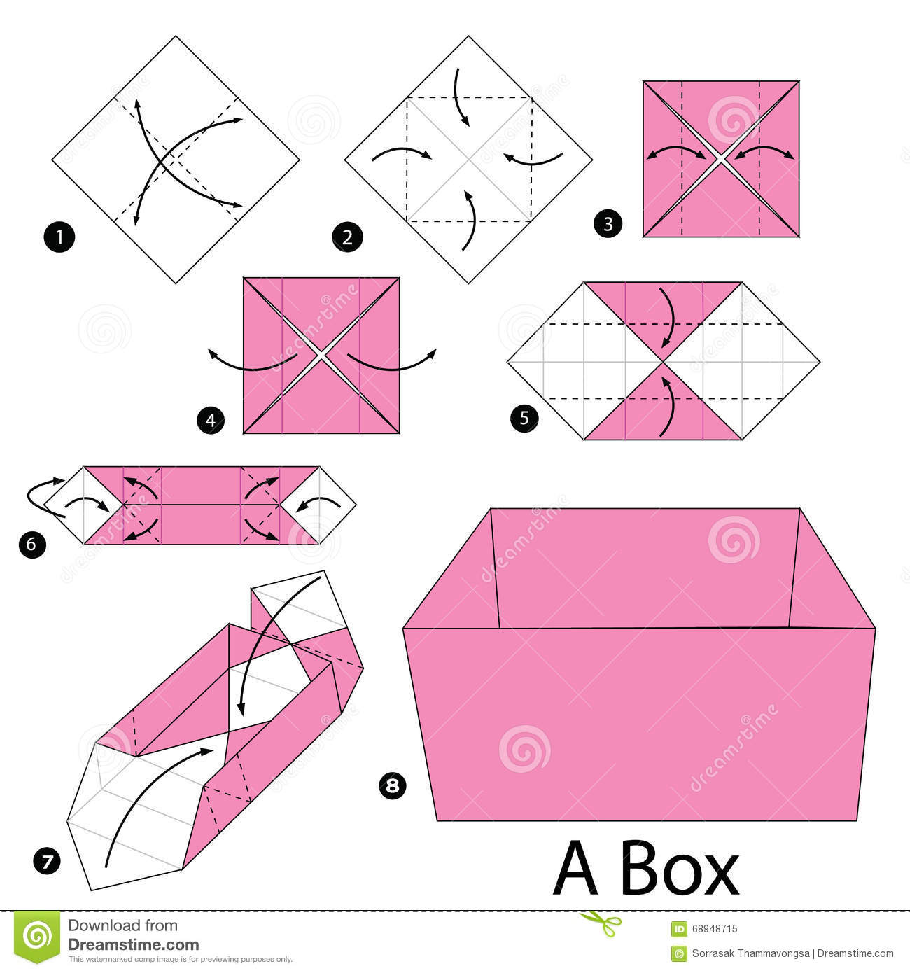 Origami instructions step by step
