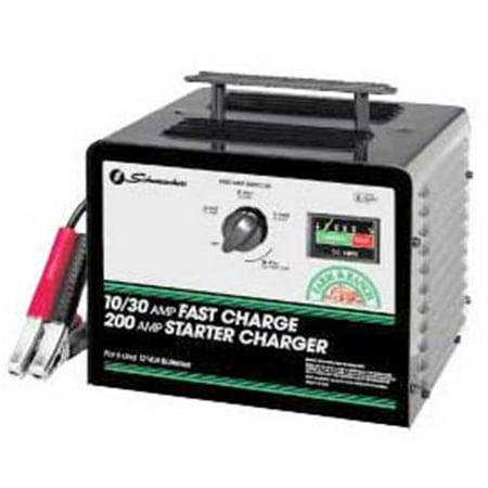 Schumacher 10 amp battery charger manual