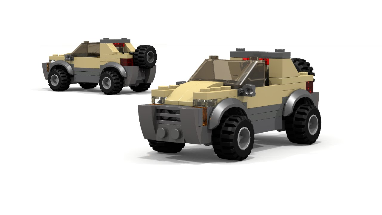 lego 4x4 car instructions