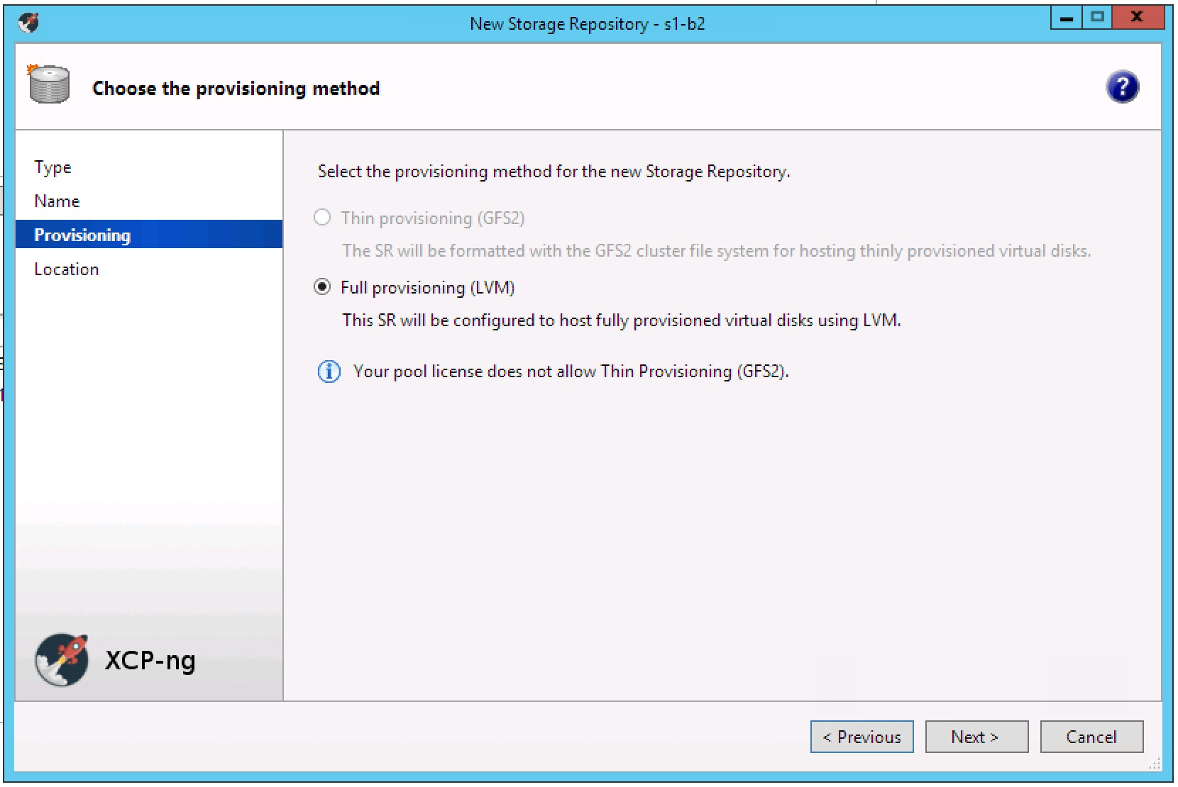 Xcp ng how to create a vm