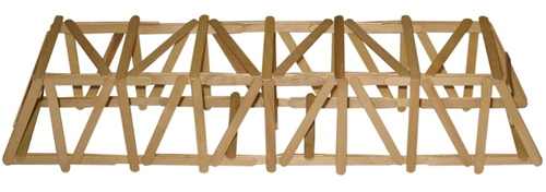 100 popsicle stick bridge instructions