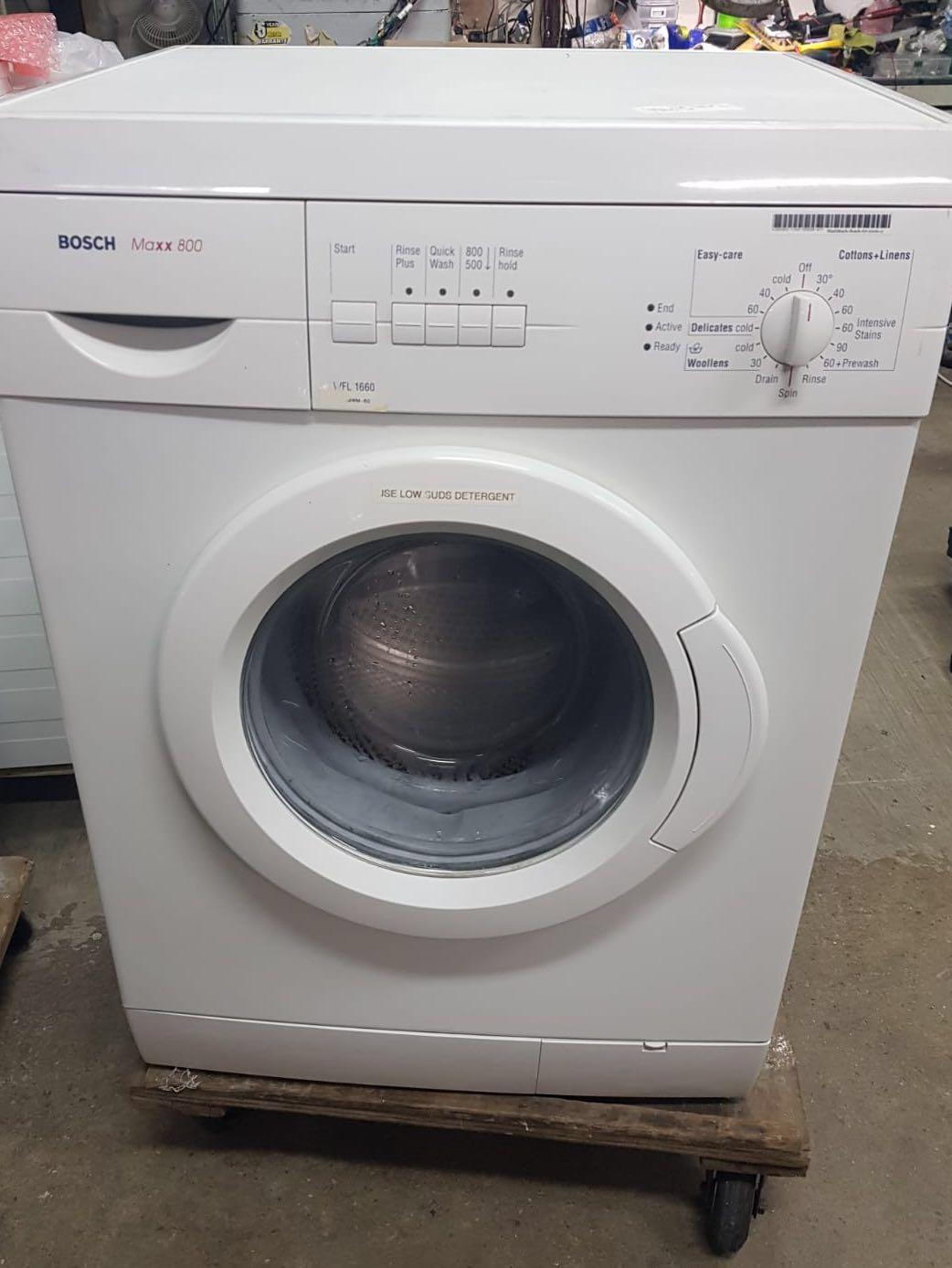 Bosch maxx 7 washing machine manual