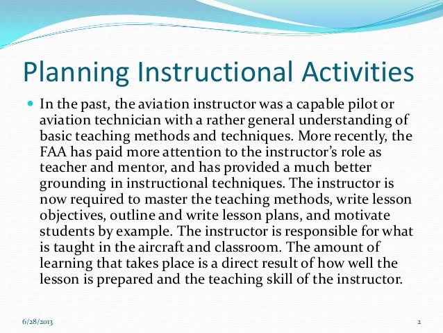 instructional planning in the classroom