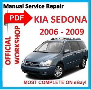 2003 kia sedona repair manual pdf