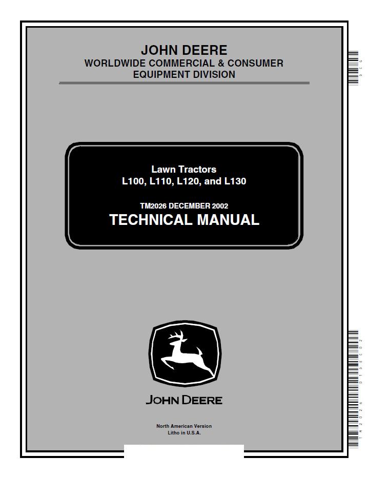 John deere l120 service manual pdf