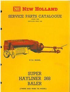 New holland 276 baler operators manual